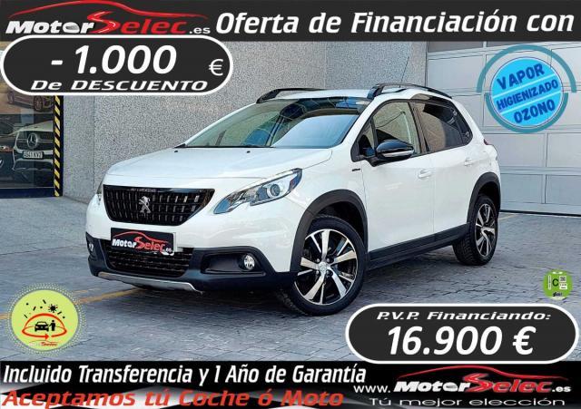 Peugeot 2008 ocasión segunda mano 2018 Diésel por 17.900€ en Valencia
