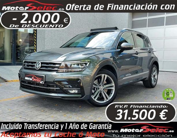 Volkswagen Tiguan ocasión segunda mano 2018 Gasolina por 33.500€ en Valencia