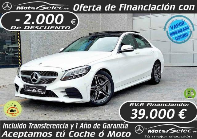 Mercedes Benz Clase C ocasión segunda mano 2020 Diésel por 41.000€ en Valencia