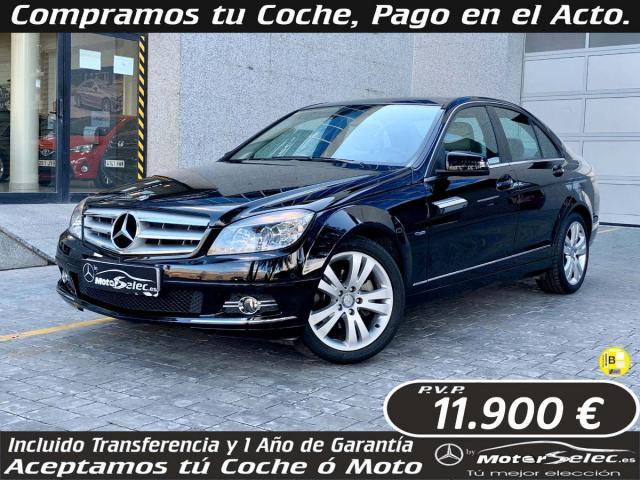 Mercedes Benz Clase C ocasión segunda mano 2010 Diésel por 11.900€ en Valencia