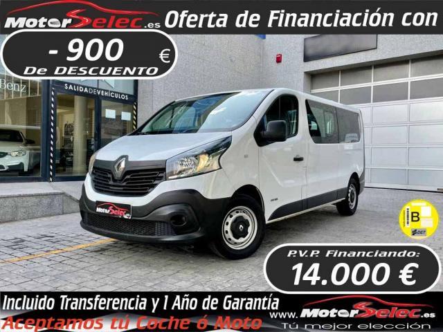 Renault Trafic ocasión segunda mano 2016 Diésel por 14.900€ en Valencia