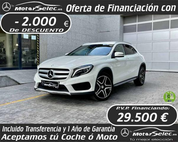 Mercedes Benz Clase GLA ocasión segunda mano 2017 Diésel por 31.500€ en Valencia
