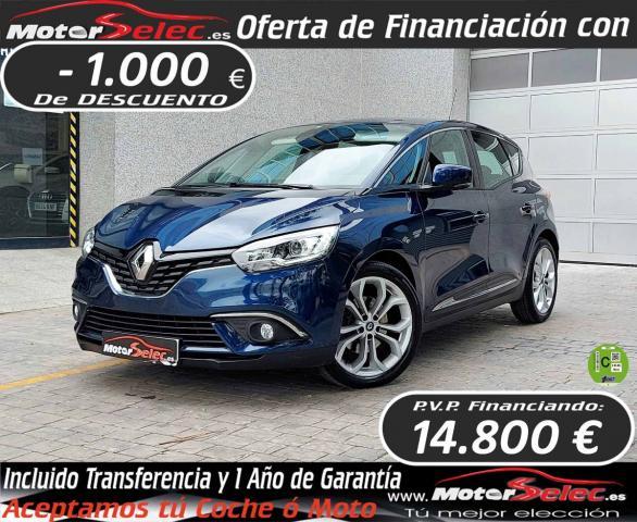 Renault Scénic ocasión segunda mano 2017 Diésel por 15.800€ en Valencia