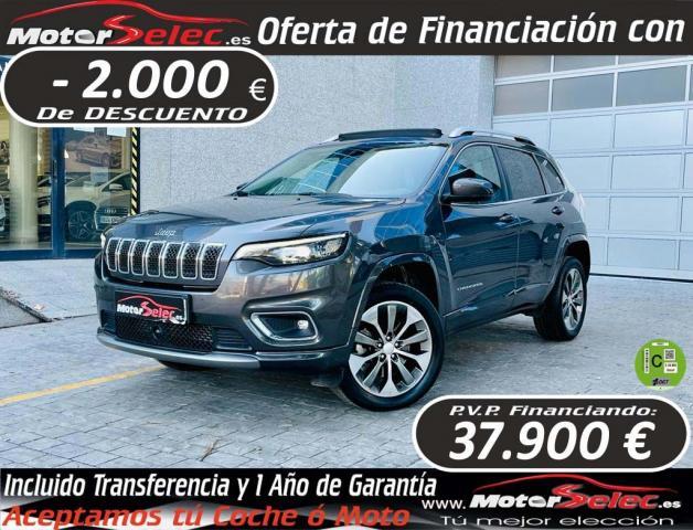 Jeep Cherokee ocasión segunda mano 2020 Diésel por 39.900€ en Valencia