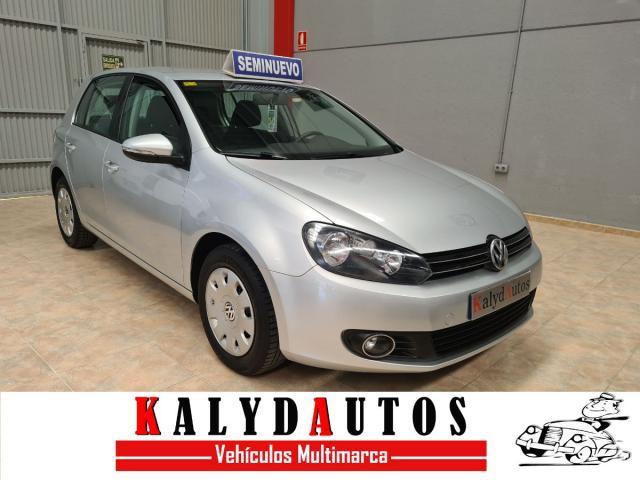 Volkswagen Golf ocasión segunda mano 2012 Gasolina por 9.990€ en Murcia