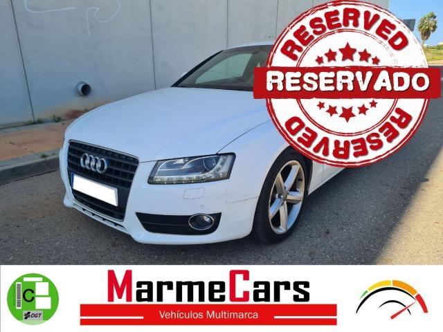 Audi A5 Coupé ocasión segunda mano 2009 Gasolina por 9.990€ en Murcia