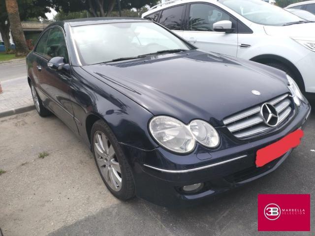 Mercedes Benz Clase CLK Coupé ocasión segunda mano 2006 Diésel por 7.450€ en Málaga