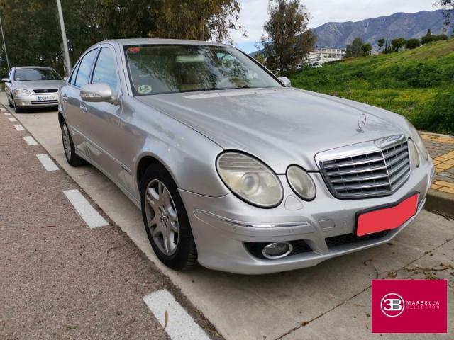 Mercedes Benz Clase E ocasión segunda mano 2008 Diésel por 5.750€ en Málaga