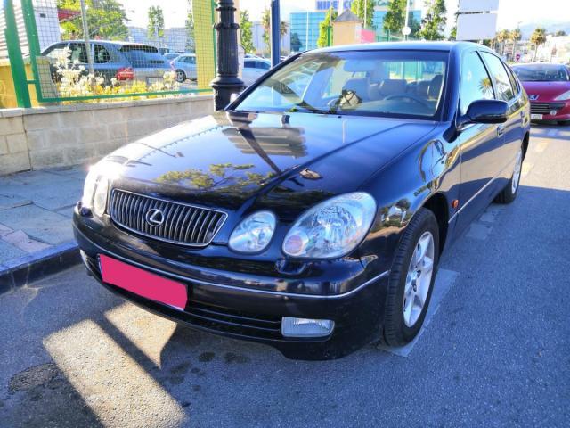Lexus GS300 ocasión segunda mano 2004 Gasolina por 4.950€ en Málaga