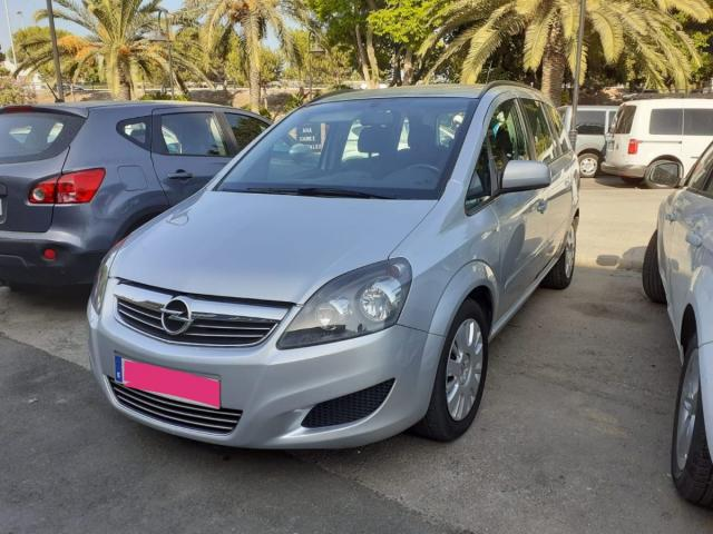 Opel Zafira ocasión segunda mano 2012 Diésel por 7.650€ en Málaga