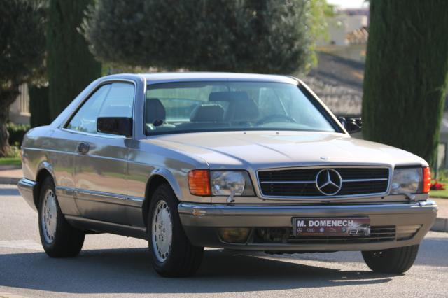 Mercedes Benz Clase S ocasión segunda mano 1985 Gasolina por 34.900€ en Málaga