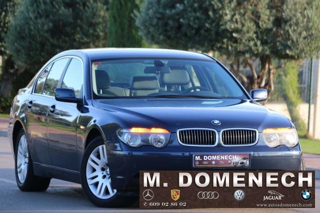 BMW Serie 7 ocasión segunda mano 2002 Diésel por 8.980€ en Málaga