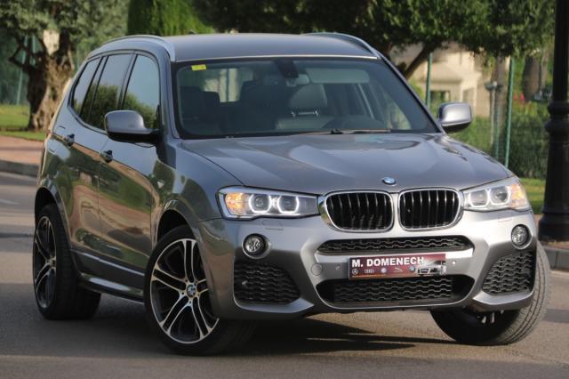 BMW X3 ocasión segunda mano 2013 Diésel por 28.900€ en Málaga