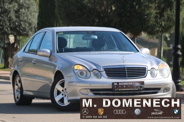 Mercedes Benz Clase E ocasión segunda mano 2002 Gasolina por 6.890€ en Málaga