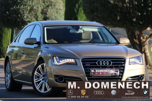 Audi A8 ocasión segunda mano 2014 Gasolina por 59.800€ en Málaga