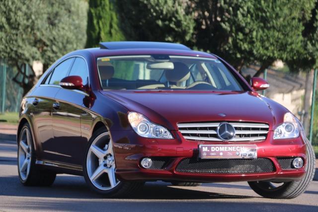 Mercedes Benz Clase CLS ocasión segunda mano 2006 Gasolina por 43.900€ en Málaga