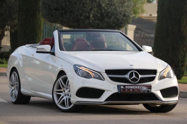 Mercedes Benz Clase E ocasión segunda mano 2014 Diésel por 31.900€ en Málaga
